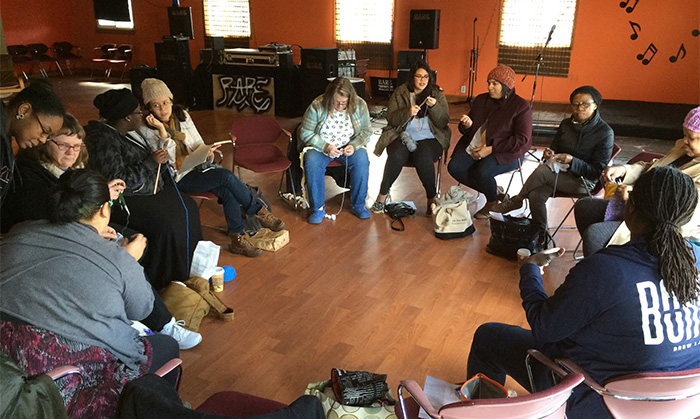 """Okupljanje kolektiva """"The Yarn Mission"""""""