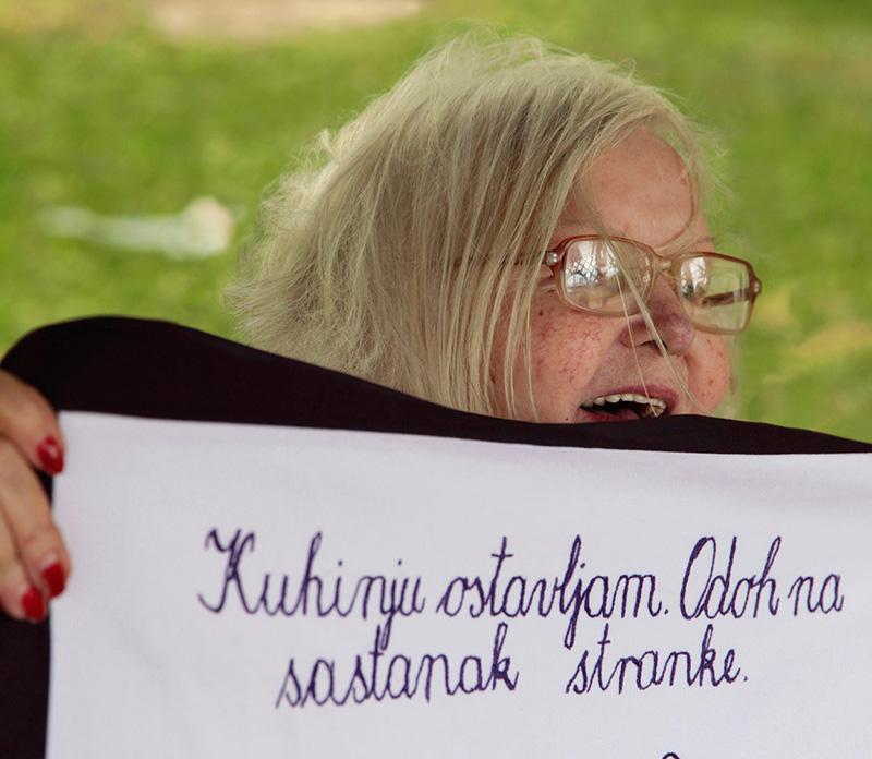 MILICA magazin: Nepraktične žene - Pavka Martinović (foto Katarina Radović